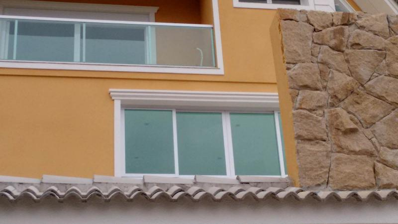Moldura decorativa de concreto