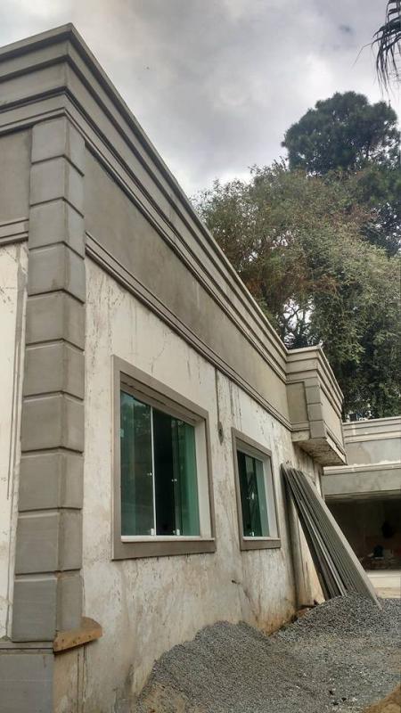 Moldura externa de isopor para janela minimax decora es - Molduras para fachadas ...