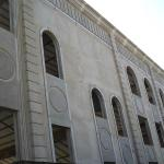 Moldura de cimento para fachada